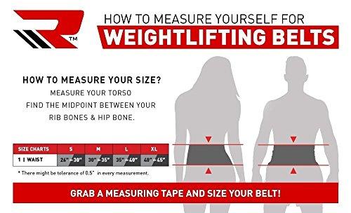 RDX Gym Leder Training Gewichthebergürtel