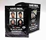 Hair4Real Ammonia Free Shampoo Based Black Hair Dye 10 Sachets x 25ml)
