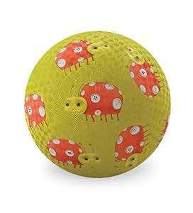 Ballon enfant Crocodile Creek 13 cm surface Rugueuse. - Coccinelle