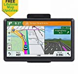 7-inch GPS for Car, Free Lifetime Map Update Spoken Turn-to-turn Navigation System