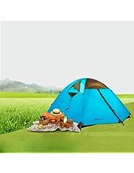 Al aire libre equipo impermeable al aire libre equipo montañismo Camping tienda de campaña doble litera Quarters polo