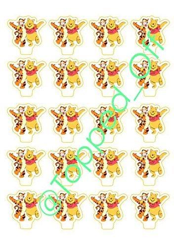 20 Winnie Puuh und Tigger Essbare (Schwanz Tigger)
