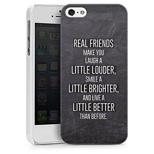 Apple iPhone X Silikon Hülle Case Schutzhülle Freunde Lachen Sprüche Hard Case weiß