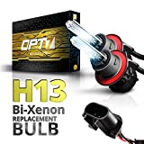 H13 BiXenon 6000K Lightning Blue Opt7 Bolt Ac H13 BiXenon Replacement Hid
