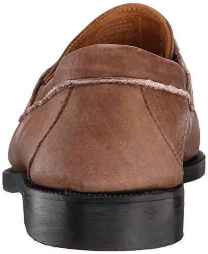 Sebago Mens Crest Cayman II Slip-On Loafer Brown Bison Leather
