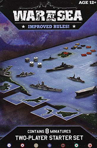 War at Sea Starter (Axis & Allies Miniatures)
