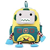 YYF Baby Boy Girl Kids Robot Backpack School Bag Rucksack Travel Backpack