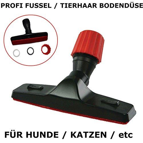 Maxorado Profi Tierhaar / Fussel Staubsaugerdüse Adapter Staubsauger Bürste Düse Hunde Katzen für alle Marken