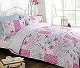 Dream Patchwork Bedding Set Pink