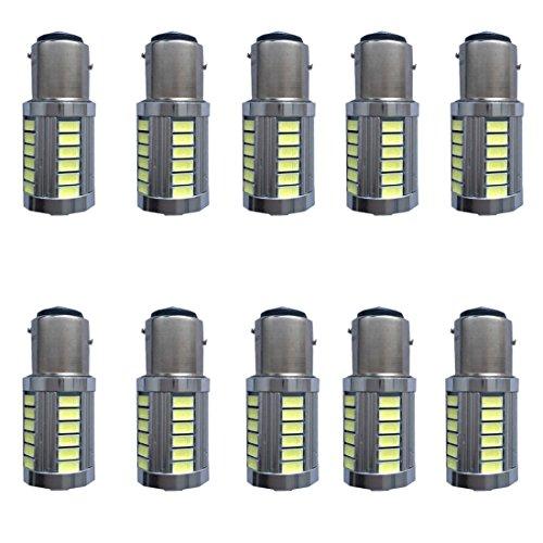 Neue Generation 12v! Super helle niedrige Energie! 10x 650 Lumen 1156 1141 1003 3014 33smd geführtes Glühlampe Gebrauch für Rückseiten-Rücklichter, Bremslichter, Rücklichter, RV-Lichter weiß