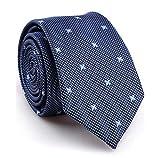 SALLYDREAM Corbata de Seda para Hombre Casual Corbata Para Fiesta Para los Negocios (M)