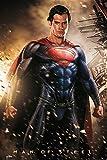 Superman Man of Steel Póster Explosion Henry cavil