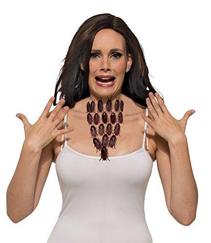 Kostüm Kakerlake Kinder - Forum Novelties Bristol Novelties X79132 Küchenschabe Halskette, Mehrfarbig, Einheitsgröße