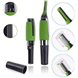 Beaming All In One Micro Touch Green Cordless Grooming Kit For Men & Women - 180 Minutes Run Time