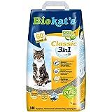 Biokat's Classic 3in1 zonder geur - Klompende kattenstrooisel met 3 verschillende korrelgroottes - 1 zak, Classic - zonder geur, 1 x 18 L, grijs