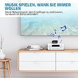 Mpow Bluetooth 4.1 Empfänger Bluetooth Audio Adapter mit Entstörfilter für Stereoanlage, (keine Akku,immer betriebsbereit,Gut mit Echo Alexa,iOS,Android System) für Musikanlage/ HiFi Anlage/Auto Lautsprecher/Musikstreaming-Soundsystem mit AUX und Cinch RCA Kabel - 6