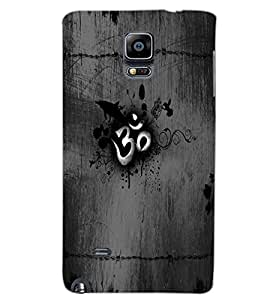SAMSUNG GALAXY NOTE EDGE OM Back Cover by PRINTSWAG