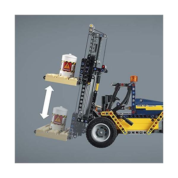 LEGO- Technic Carrello elevatore Heavy Duty, Multicolore, 42079 4 spesavip