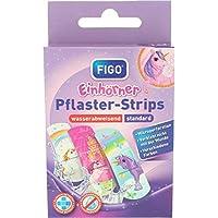 FIGO Pflaster-Strips Kinderpflaster Einhorn Einhörner 10 Strips preisvergleich bei billige-tabletten.eu
