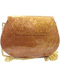 Ethnic Clutches Texture Design Sling Bag Women Party Bridal Bag Metal Clutches Handbags For Women