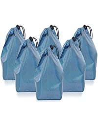 "Drawstring Bags, 10"" Drawstring Pouch Bags - Water Repellant - Small Craft Bag, Gift Bag - Colorful Drawstring..."