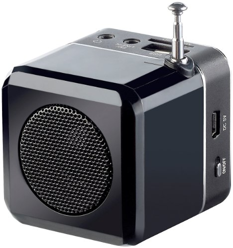 "auvisio Mini-MP3-Station ""MPS-550.cube"" mit integriertem Radio, 6 Watt - 2"