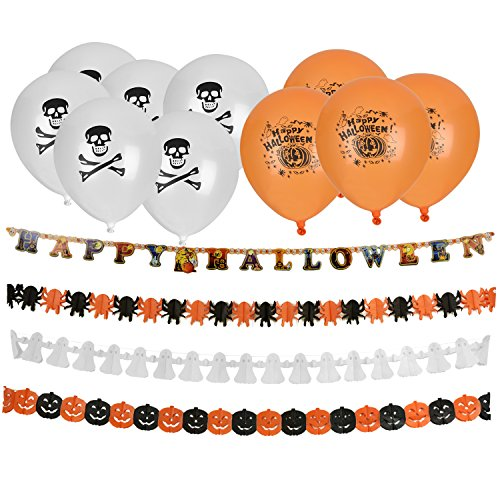 Banner Luftballons Girlanden DIY Dekoration (Halloween-sb)