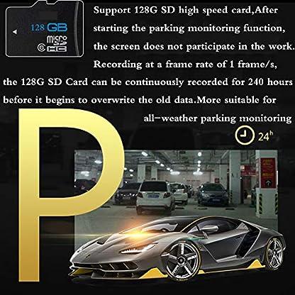 Dashcam-Auto360-Wifi-Nachtsicht-VorneHinten-Dual-1080P-Full-HD-Kamera-Autokamera-Mit-ADAS-Sicherheits-SystemAudioBewegungsmelderG-SensorLoop-AufnahmeParkmonitor-Fr-24H-Parkberwachung
