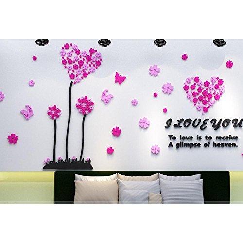 love-dandelion-pastoral-3d-3d-acrylic-stickers-muraux-romantic-bedroom-living-room-sofa-background-w