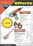 rubimix-9-bl 230V 50/60Hz-Pack de 2unidades-Rubi 25940