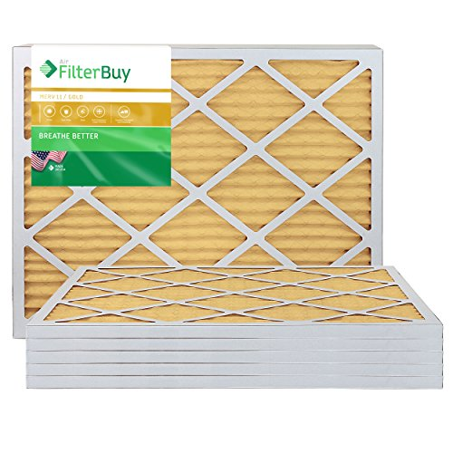 Ofen Filter/Air Filter - AFB Gold Merv 11 (6 Pack), AFB16x30x1M11pk6 (Ofen-filter 16 X 30)