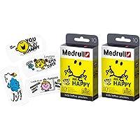 Medrull Pflaster für Kinder Mr HAPPY 2 Boxen Bunt Tattoo preisvergleich bei billige-tabletten.eu