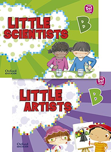 Pack Little Artists & Little Scientists B (Little Artists & Scientists)