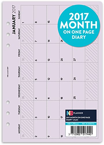 2017-mois-sur-une-page-planner-recharge-insert-english-filofax-a5-compatible-lilas