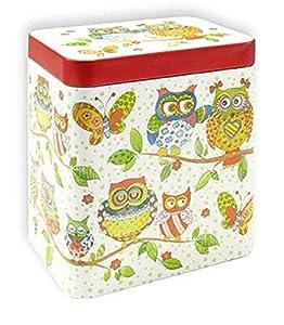 Boîte Chouette famille 250g de thé Boîte Boîte à café