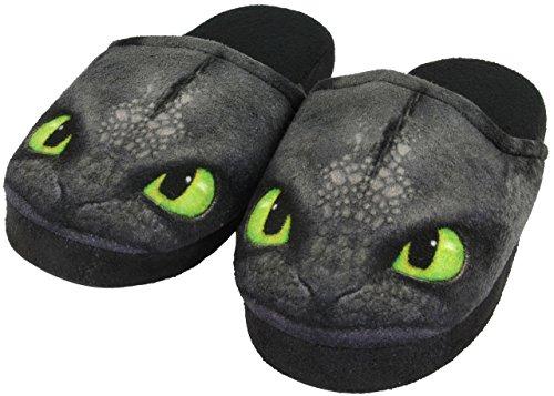 dreamworks-dragons-kinder-hausschuhe-slipper-ohnezahn-toothless-schwarz-31-32