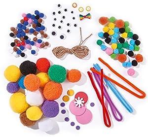 Simba 106306013 - Hacemos Moda Figuras diversión Pom Pom, Multicolor