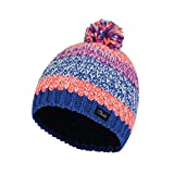 Dare 2b Girls Superflash Acrylic Knit Fleece Beanie Hat