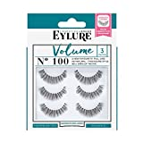 Eylure Volume Multipack 3 Paires de Faux Cils No. 100