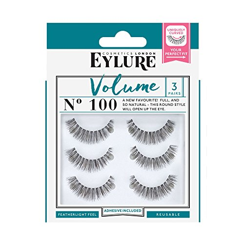 Eylure Volume Multipack 3 pares Faux Cils no. 100