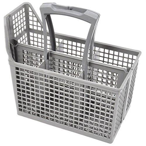 AEG Cesto Para Cubiertos Lavavajillas Jaula & Manija (6 Compartimentos, Manija & Tapa)