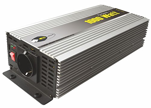 Sinus-Wechselrichter 12 V DC/230 V AC 50 Hz- 1000 Watt Dauerleistung (Ast Power Supply)