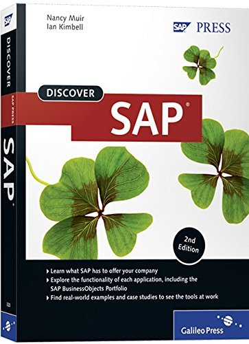 Discover SAP 2nd Edition by Nancy Muir (30-Dec-2009) Paperback