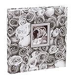 Anywhere Roses Fotoalbum in 30x30 cm 100 weiße Seiten Jumbo Foto Album: Farbe: Grau