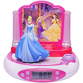 Disney Princess Radio-réveil projecteur
