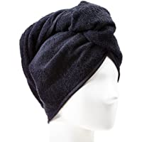 Möve Basic Frottier-Turban 27 x 67 cm black