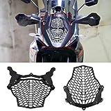 Delaman Motorrad Frontscheinwerfer Lampenschutz Schutzabdeckung für KTM 1190 Adventure & R ADV