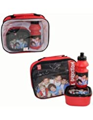 Girls Kids Hello Kitty Princess Monster High Lunch Bag Kit Set With Water Bottle & Sandwich Box