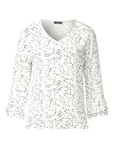 Street One Damen Bluse Weiß (Off White 20108)