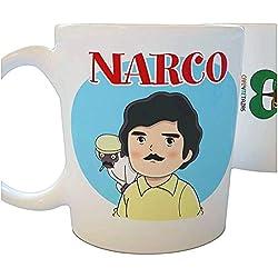 Tazas de series: Narco - Café y Té Tazas - Parodias no oficiales en tazas originales desayuno